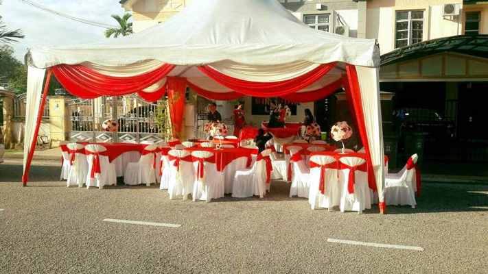Arabian Canopy JB (Red-White Theme)