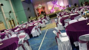 Hall Decoration & Setting Dark Purple 3