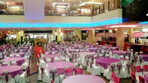 Indoor Decoration in Angsana Mall (Pink White 1)