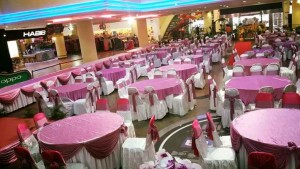 Indoor Decoration in Angsana Mall (Pink White 2)