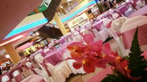 Indoor Decoration in Angsana Mall (Pink White 3)