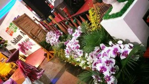 Indoor Decoration in Angsana Mall (Pink White 4)