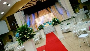 Hall Decoration in Johor Bahru (Indoor White T1)
