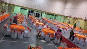 Hall Decoration Orange Theme 2