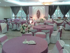 Hall Decoration Purple Theme 2