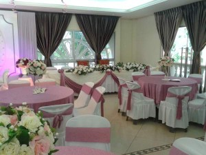 Hall Decoration Purple Theme 4
