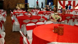 Hall Decoration Red Theme 1