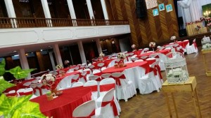 Hall Decoration Red Theme 2