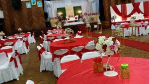 Hall Decoration Red Theme 3