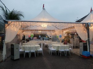 Birthday Party Canopy Tent Rental Johor Bahru JB Celebrate With
